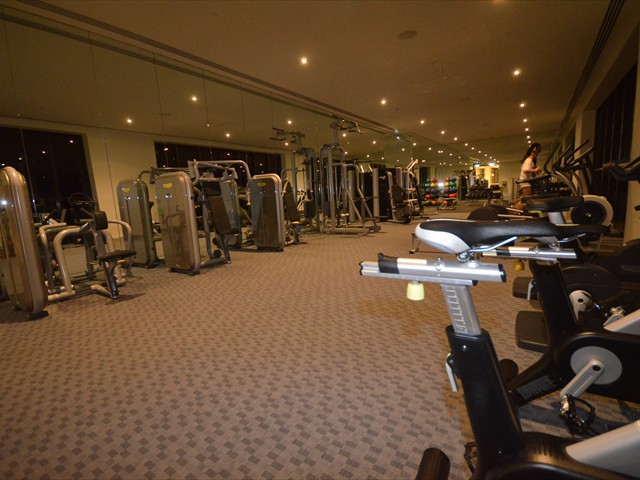 ABODE: 9th floor and 55th floor state of the art fitness centres