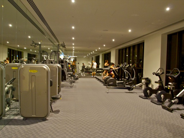 ABODE: 9th and 55th floor state of the art fitness centres.
