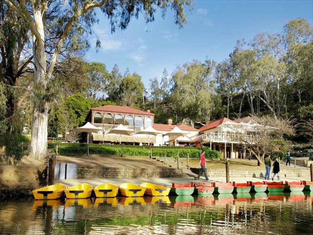 EDEN: Nearby Boathouses along the Yarra River; rent a boat