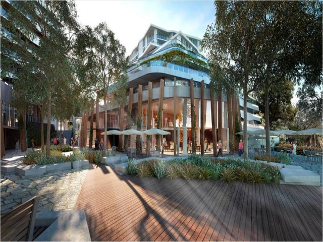 EDEN: Acacia Place w/ cafes & restaurant, Yoga Academy and direct River access