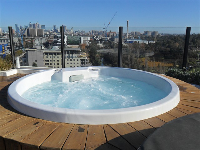 EDEN: Relax in rooftop hot tubs with fantastic city views, BBQ