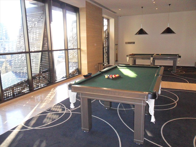 ABODE: Pool Tables, Table Tennis and other recreation on level 9