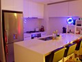 Stainless Steel Kitchen, Stone bench top, Miele appliances