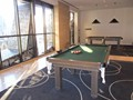 Pool Tables, Table Tennis and other recreation on level 9